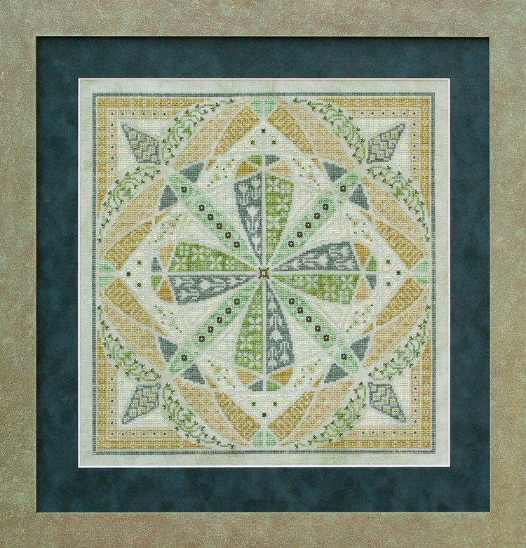 SILK FLOSS PACK Grasshopper Pie cross stitch Glendon Place Dinky Dyes  image 2