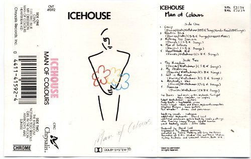 Man of Colours [Audio Cassette] Icehouse