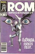 ROM: Spaceknight #53 April 1984 [Comic] by Bill Mantlo; Sal Buscema - $9.99