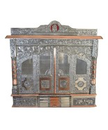 Home Puja Mandir Temple-Altar-Mandap Religious Pooja Decor with Door & S... - $699.99