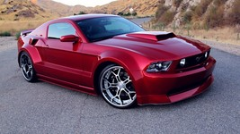2012 FORD MUSTANG GT CUSTOM COUPE 24X36 inch poster, sports car, muscle car - $18.99