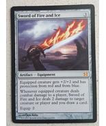 Mtg Magic Proxy 1x Sword Fire and Ice Commander Blackcore - $5.40