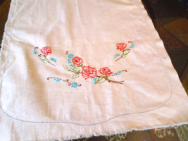Vintage Towel -  Colonial Maid-  Incomplete Project -Needs Edge Trim #60... - $5.49