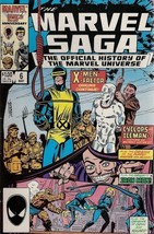 The Marvel Saga Book VI (Love, Hate and Sacrifice - Secret Origins X-Men... - $9.99