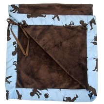 Baby Bella Maya Little Boy Blue Plush Stroller Blanket [Baby Product] - $40.00