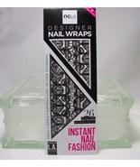 ncla Nail Wraps set of 26 wraps Black & White Lace look  NEW   - $9.75