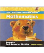 Scott Foresman Mathematics Grade 2 ExamView Test Generator CD-ROM  - $19.99