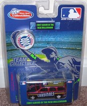 White Rose Collectibles ST LOUIS CARDINALS 2000 DIECAST SUV NEW! - $13.96