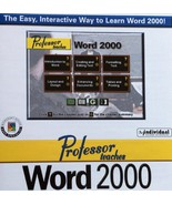 Professor Teaches Word 2000 [CD-ROM] The Easy, Interactive Way to Learn ... - $19.99