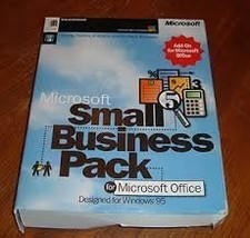 Microsoft Small Buisness Pack for Micrsoft Office Windows 95 [3.5 inch diskette] - $49.99