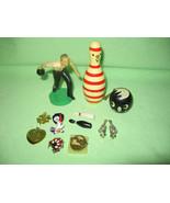 Vintage lot of Bowling 500 Pins, Rhinestone Ear... - $6.99