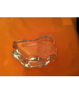 Solid Clear Glass Paperweight, Rock Shaped - $12.99