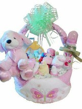 Welcome Home Diaper Basket -Girl [Baby Product] - $83.00