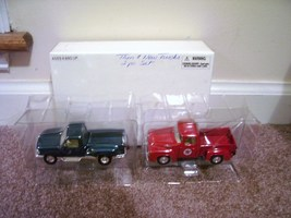 Road Champs * THEN & NOW * 2 FORD DIECAST PICKUP TRUCKS NEW! - $24.96