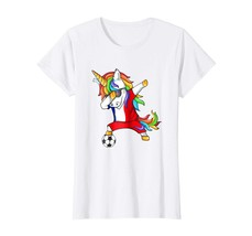New Shirts - Dabbing Soccer 2018 Unicorn France T-Shirt Wowen - $19.95