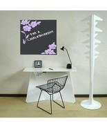 Floral Chalkboard Memo Office Vinyl Wall Sticker - $24.99