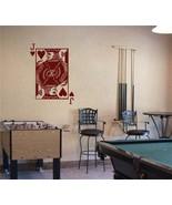 JACK of HEARTS Playing Card Poker Blackjack Vinyl Wall Sticker Decal - $29.99