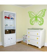 Huge Butterfly Vinyl Wall Sticker Decal 32 in x 42 in - $29.99