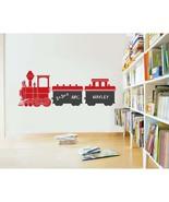 Kids Train Chalkboard Vinyl Wall Sticker Decal - $49.99