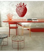 Strawberry Kitchen Vinyl Wall Sticker Decal - $22.99