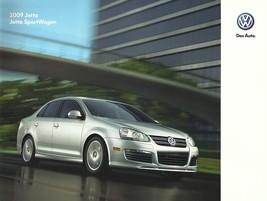 2009 Volkswagen JETTA brochure catalog US 09 VW SE SEL TDI SportWagen - $9.00