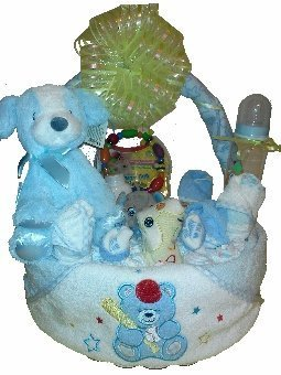 Welcome Home Diaper Basket -Boy [Baby Product] - $83.00
