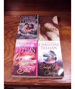 Lot of 4 Sea Haven Series PB Books by Christine Feehan, Drake Sisters, Heart  - $7.45
