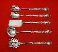 Belvedere by Lunt Sterling Silver Hostess Set 5pc HHWS Custom Made - $359.00