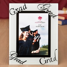 fabulous 5 x 7 graduation glass picture frame from fashioncraft  - $11.99