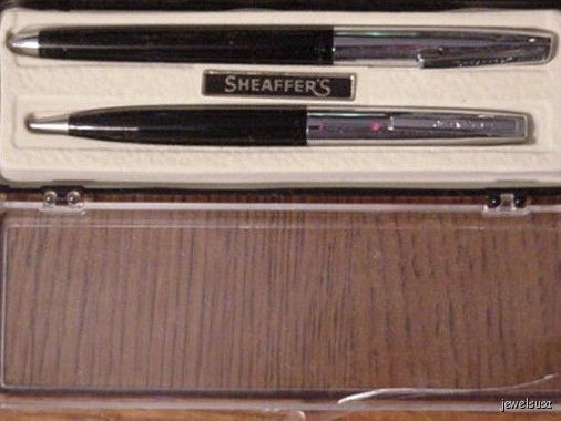 Vintage Sheaffer Ball Point Pen & Pencil Set in Case