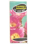1961 Arizona Road Map Official early Highway State Interstate - $13.37