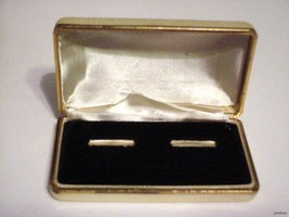 Gorgeous Vintage Pearlized style Double Ring Case Box Only - $24.95
