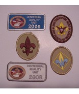 2 Centennial Quality Unit 2008-2009 Patches 3 T... - $13.95