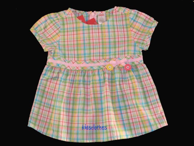 NWT Gymboree 2 Pc Happy Rainbow Pink Summer Set Sz 5