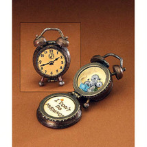 "Boyds Treasure Box""Benny's Alarm Clock w/Snooze McNibble"" #392176-1E -NIB- 2008 - $22.99"