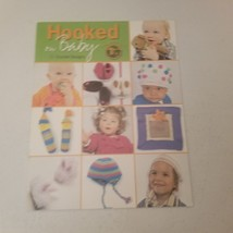 Hooked on Baby 11 Crochet Designs Leisure Arts Toys Accessories Sweater - $14.00