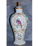 Mottahedeh Reproduction Chinese Export Parrot Covered Porcelain Vase - $400.00