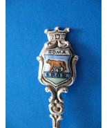 STERLING SILVER ROME Souvenir Collector Spoon Collectible SHE WOLF Roma ... - $19.95