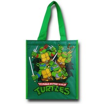TMNT Group Burst Insulated Shopper Tote Green - $16.98