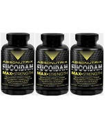 3 Bottles-Absonutix Fucoidan Pure Atlantic Brown Sea Weed Extract 500mg ... - $89.99