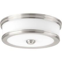 Progress Lighting P350085-009-30 Bezel LED Flush Mount, Brushed Nickel - $92.56