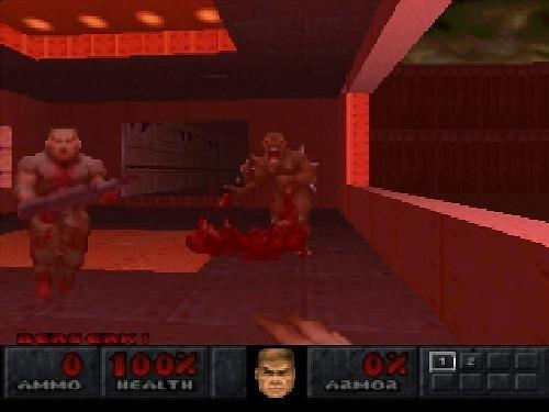 Final DOOM, Sony Playstation One PS1, Import Japan Game