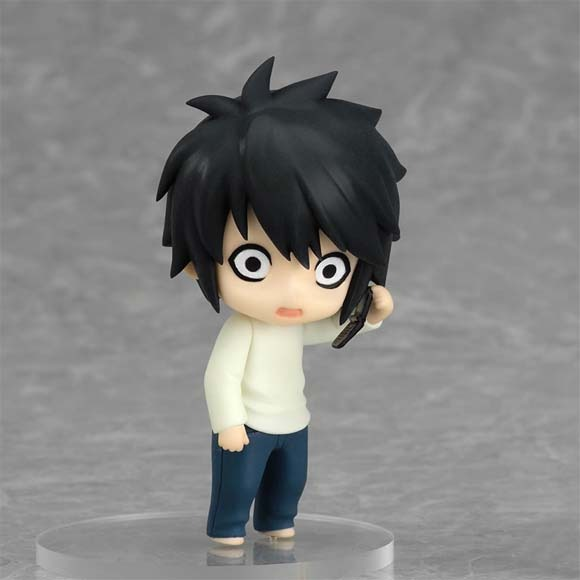 Death Note: Case File #2 Nendoroid Petite L with Cell Phone Mini Figure NEW!