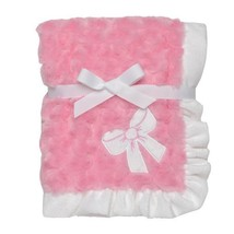 Baby Starters Plush Swirl Blanket, Bow, Pink [Baby Product] - $20.00