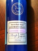 Bath & Body Works Aromatherapy Sleep Lavender Vanilla 2 oz Rare - $12.00