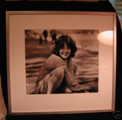 Black and White Photograph By Paul Jasmin Of Actress Debra Winger 1983