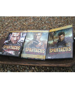 Spartacus Seasons 1, 2 and 3 DVD Blood and Sand, Vengeance, War of the D... - $21.99