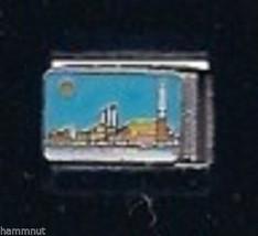 Big City And Moon Wholesale Italian Charm 9 Mm - $7.16