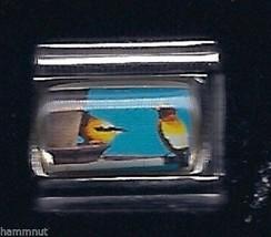 Finch Birds  Wholesale Italian Charm 9 Mm K12 - $7.16