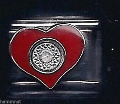 Heart Wholesale Italian Charm In  9 Mm K12 - $7.16